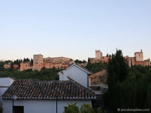 View of the Alhambra from Carmen Aben Humeya