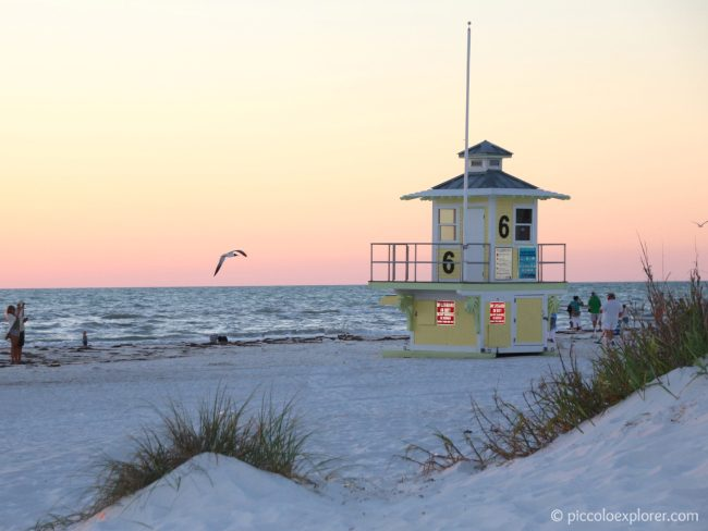 Clearwater Beach, Florida at Sunset