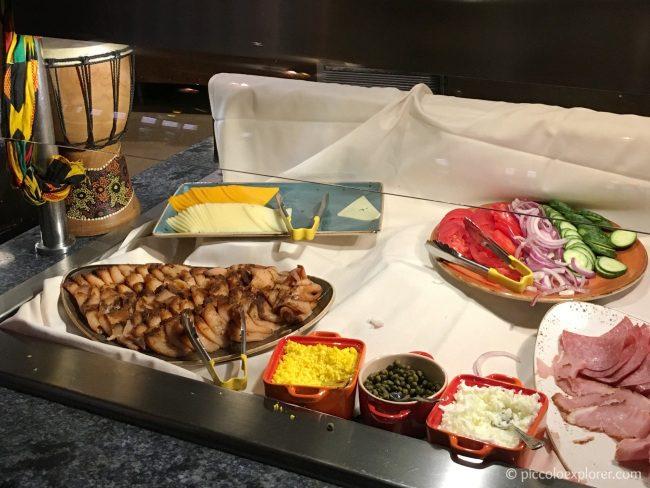 Breakfast Buffet at Boma, Animal Kingdom Lodge, Orlando, FL