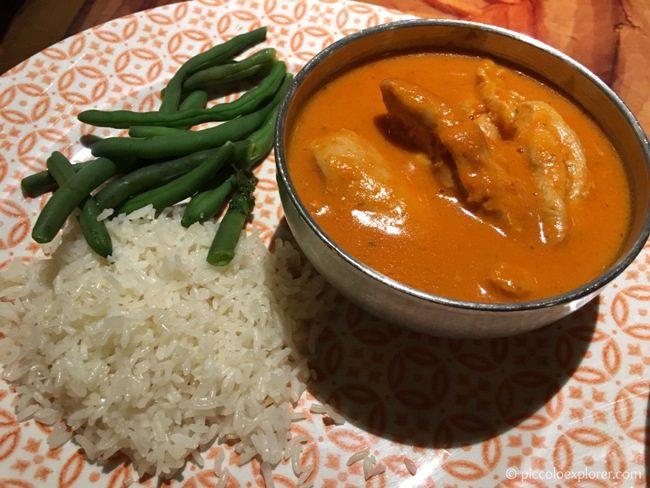Dinner at Sanaa Restaurant, Animal Kingdom Lodge, Orlando