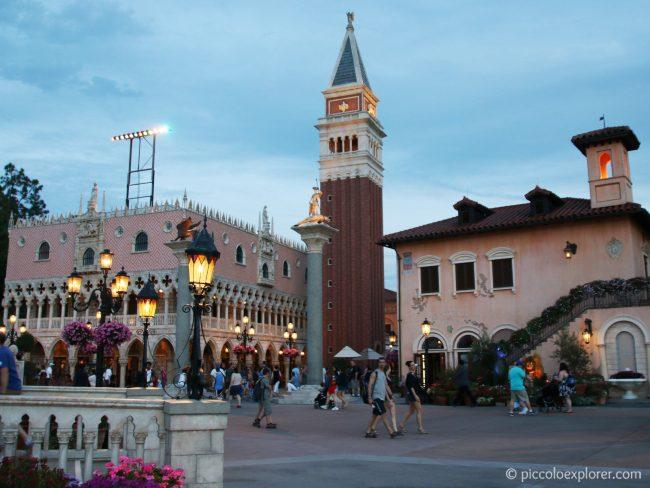 Italy area at Epcot World Showcase, Walt Disney World, Orlando