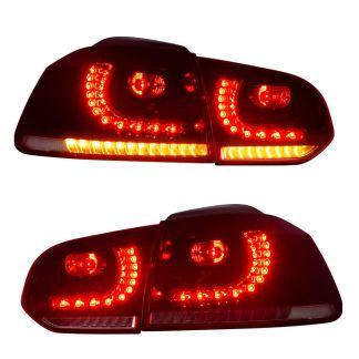 Stopuri LED VW Golf 6 semnalizare dinamica