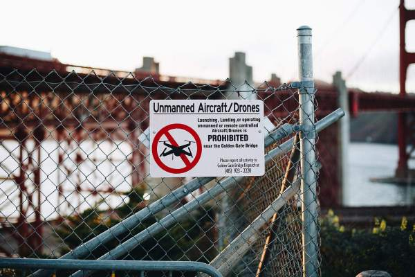 No Drone Zone Unmanned Aircraft and Drones Prohibited Free ...