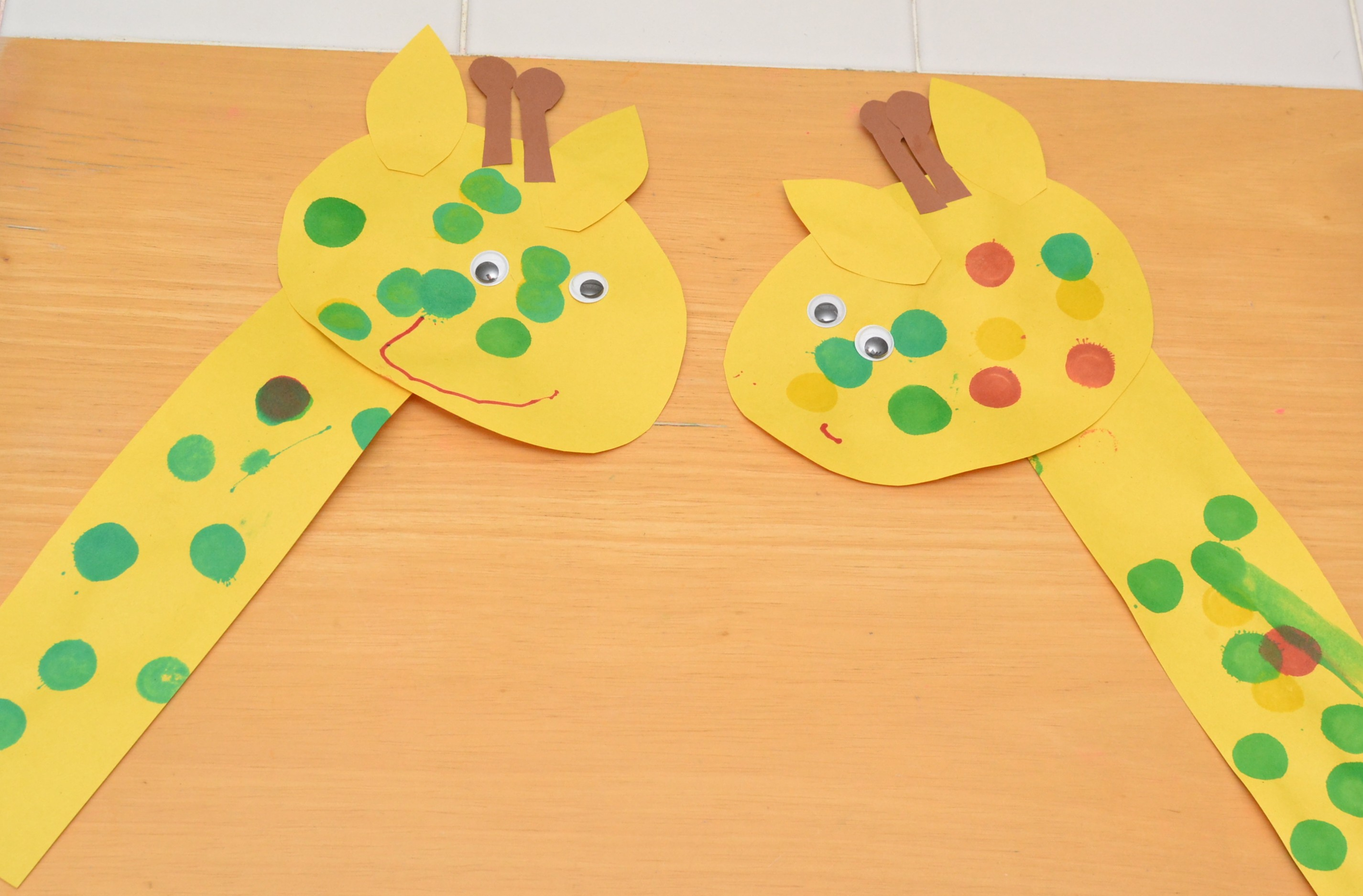 Zoo Animal Crafts For Kindergarten