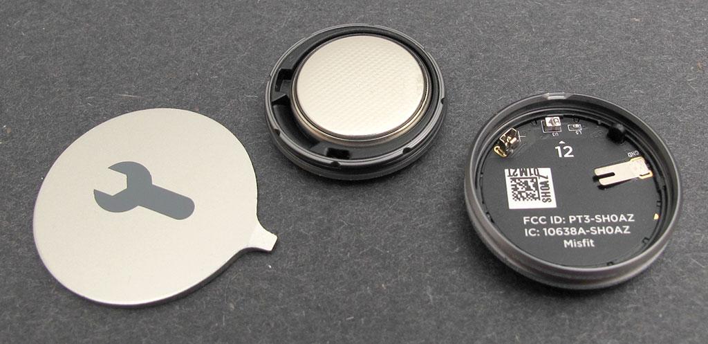 Misfit Shine : Battery Installation