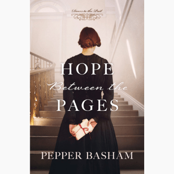 Historical fiction book Hope between the pages book cover