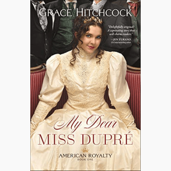 historical fiction book cover by grace hitchcock
