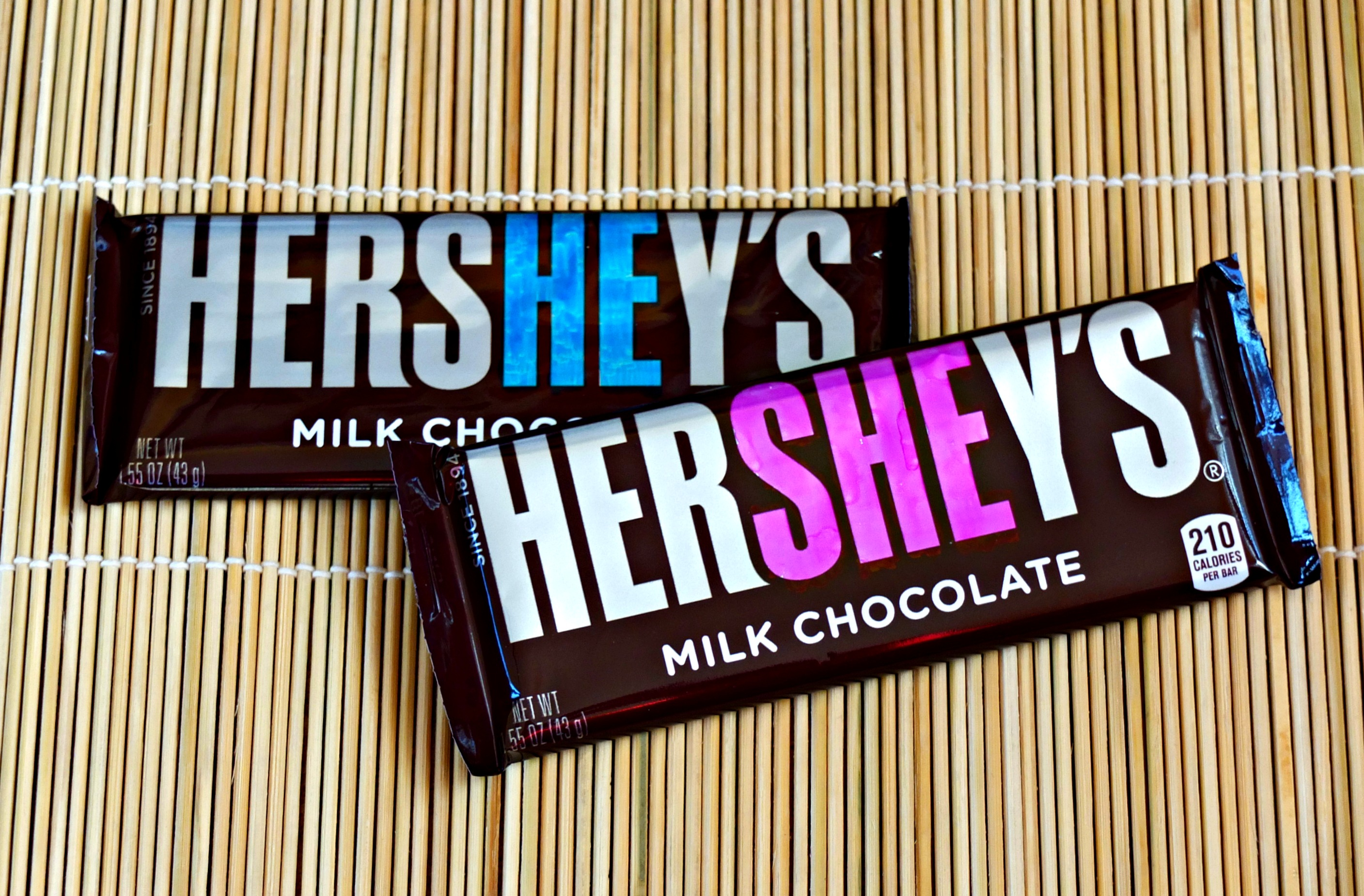 Cheap And Easy Baby Gender Reveal Idea Using Hershey Bars