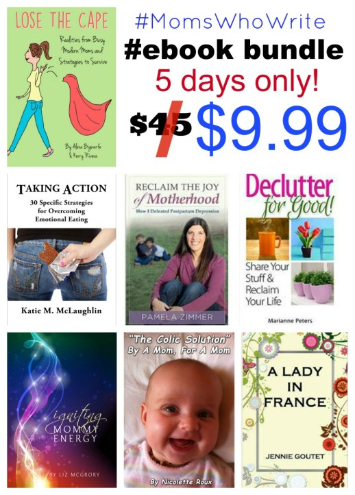 #MomsWhoWrite ebook bundle