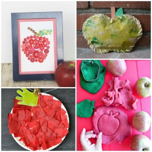 10 Awesome Apple Crafts for Kids