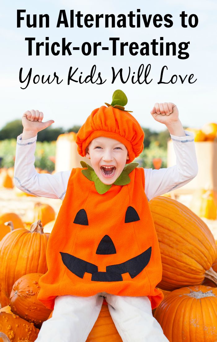 Fun Alternatives To Trick Or Treating Your Kids Will Love