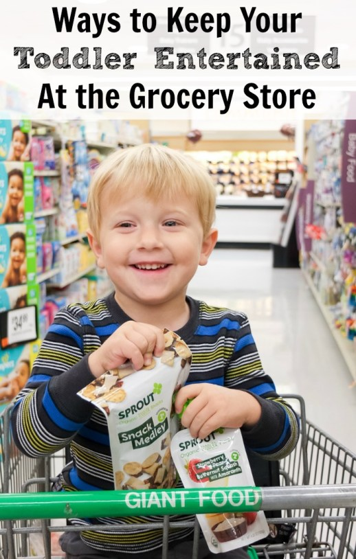3 Smart Strategies for Keeping Toddlers Entertained at the Grocery Store