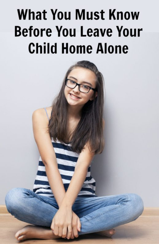 What You Absolutely Must Know Before You Leave Your Child Home Alone