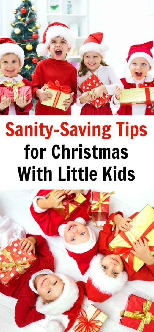 Sanity-Saving Tips for Christmas With Little Kids