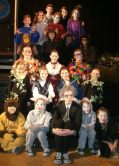 """Cast of """"The Magician's Nephew"""" at Roundtown Players."""