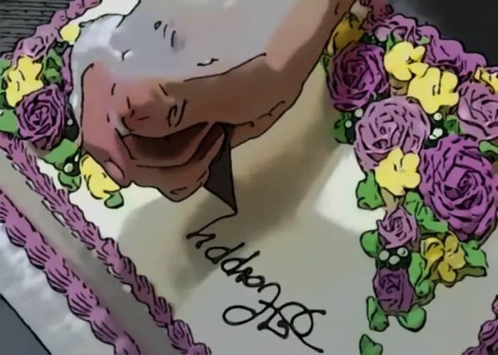 Cake Decoration: Writing
