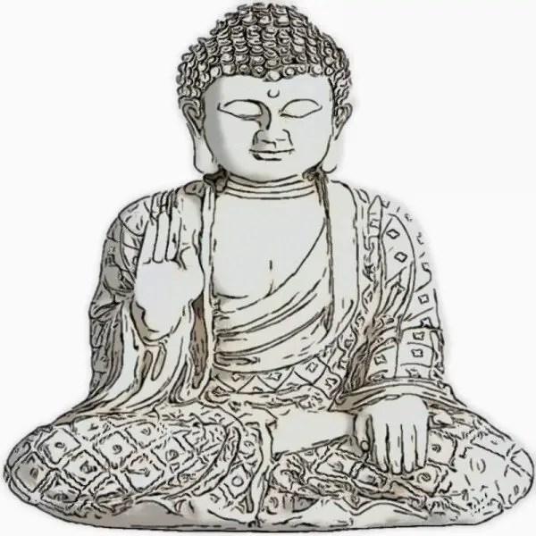 Meditation Buddha Statue Figurine