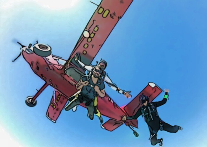 How To Get a Skydiving License.