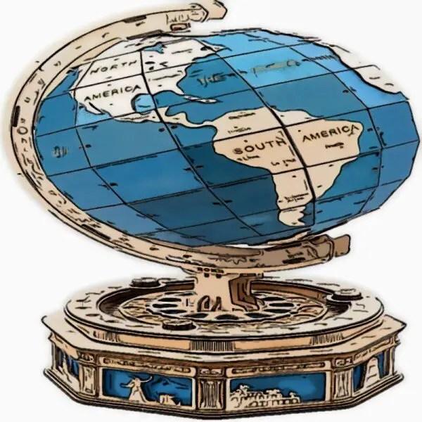 World Globe Model