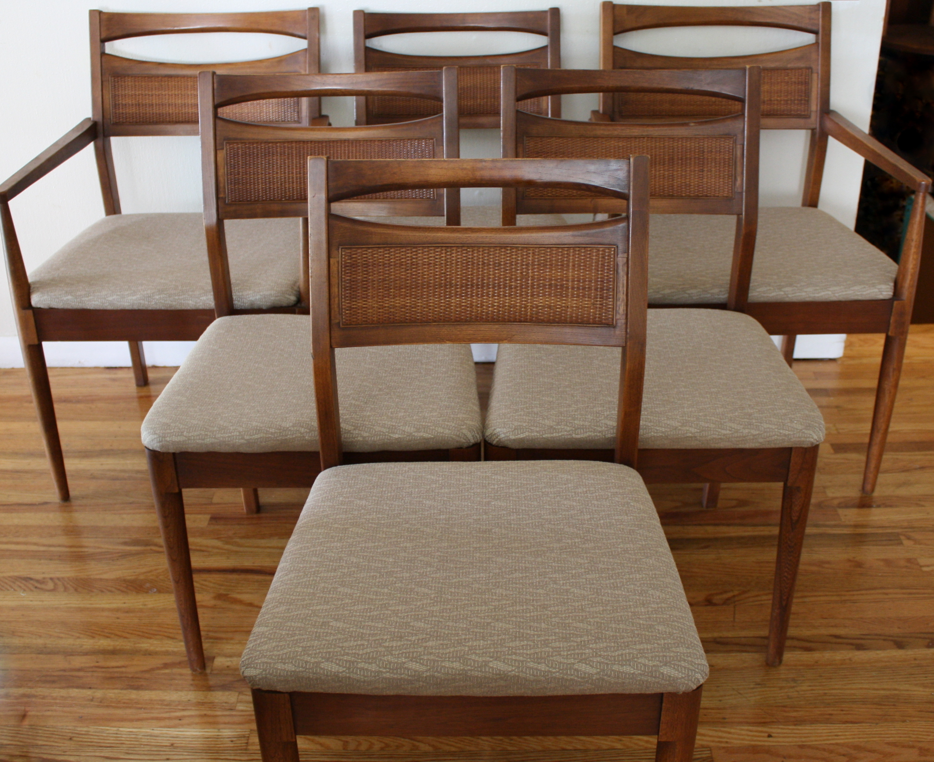 Mid Century Modern Dining Table And Chairs American By Martinsville Picked Vintage