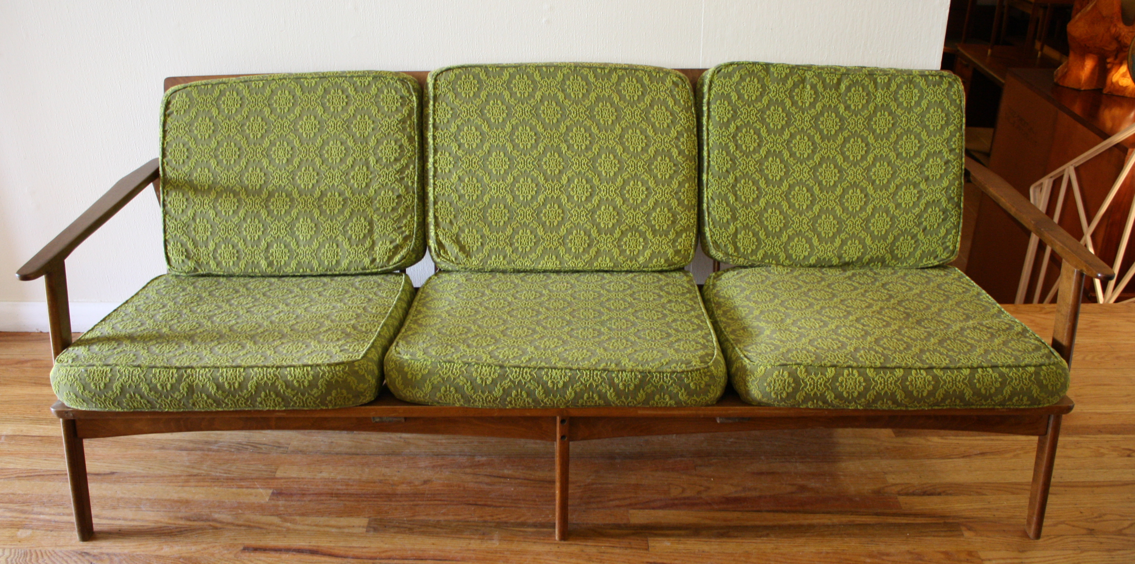 Baumritter Couch And Chair MidCentury