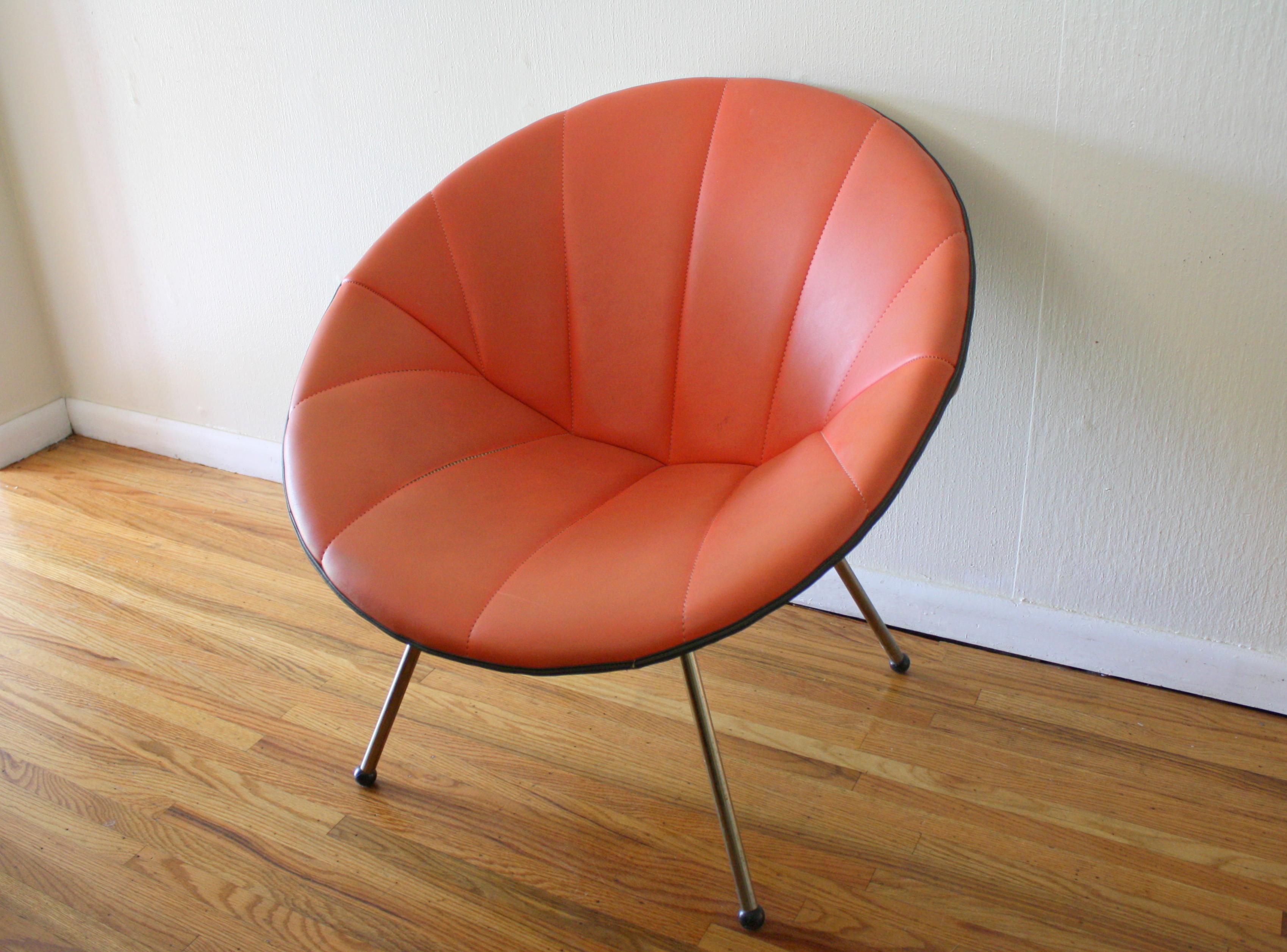 Mid Century Modern Zori Saucer Chair Picked Vintage
