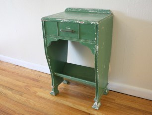Antique distressed side table - *SOLD*