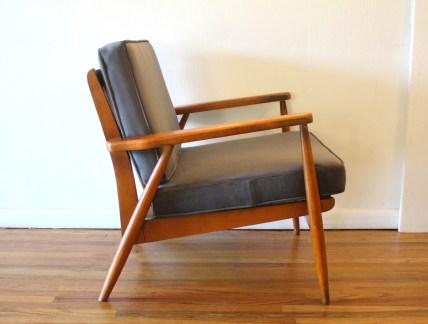 elephant gray velvet chair 3