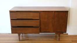 Stanley credenza with side cabinet 3