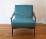teal velvet arm chair 4