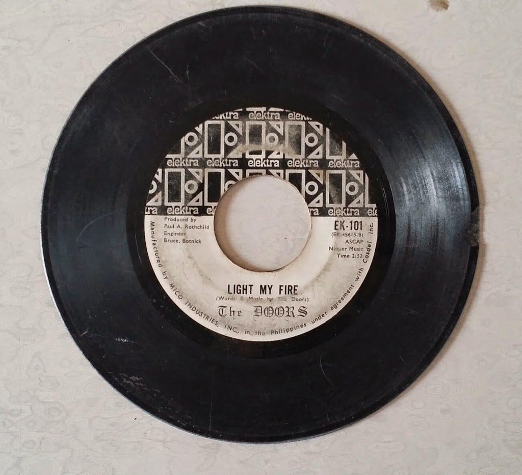 The first song on the record is Light My Fire. Tracktime is about 2:52 and released on April 1967. It was written by the band members and produced by Paul ... & Open The Doors!!! \u2013 Picker Junk Pezcame.Com