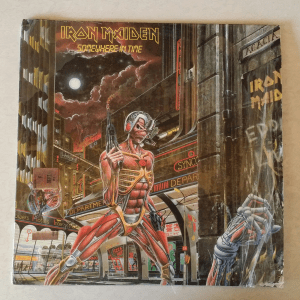 Iron Maiden Album Somewhere in Time Front
