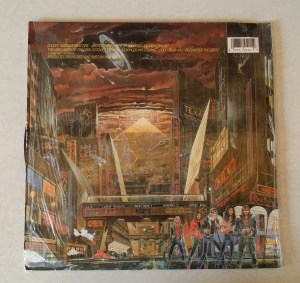 Iron Maiden Album Somewhere in Time Back