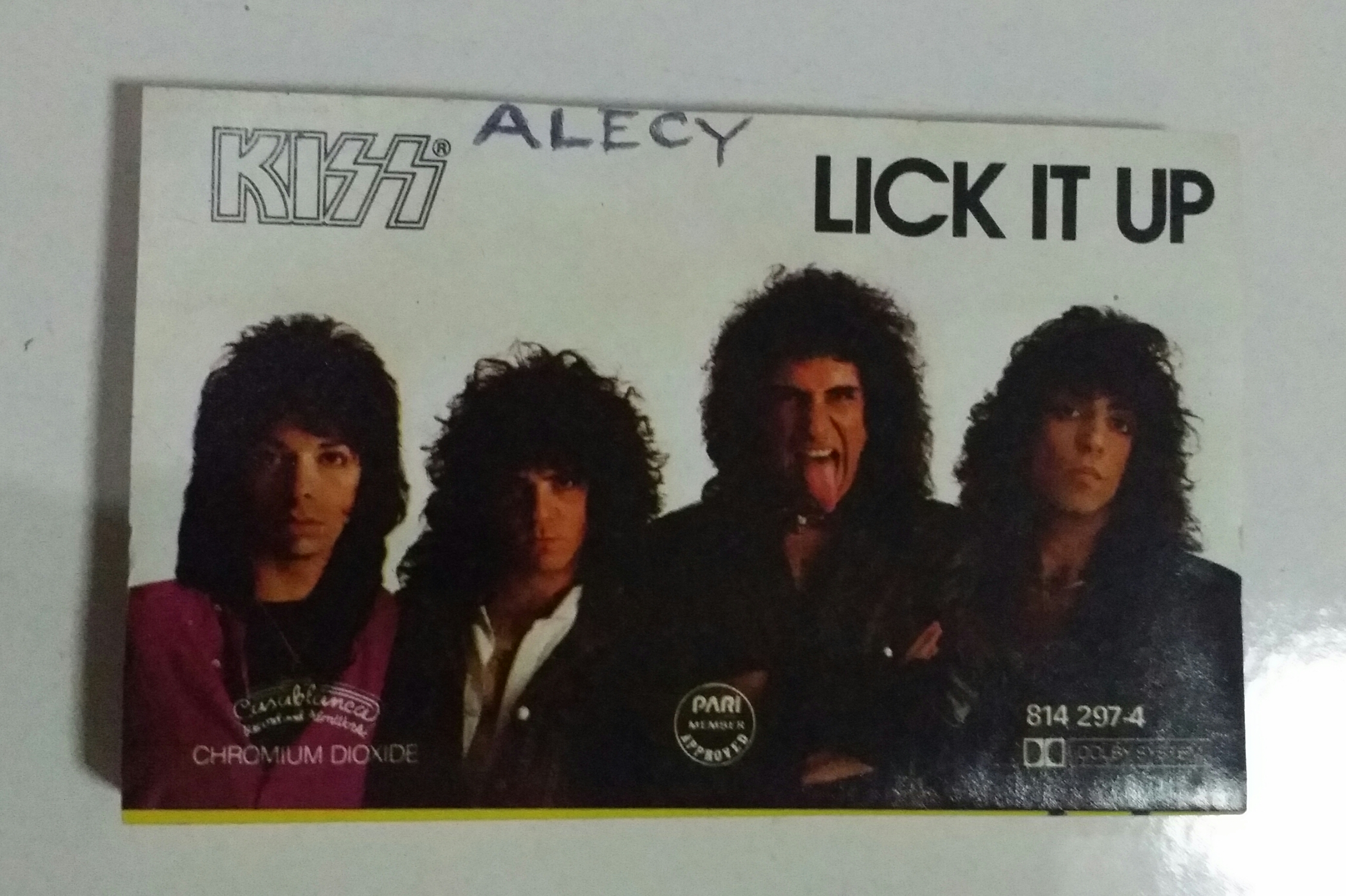2c5be9bb3698 Kiss Lick It Up Album The Unmasking – Picker Junk