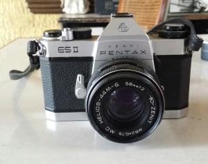 Pentax ES2 camera
