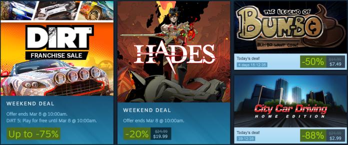 Steam Weekly Sales Ranking