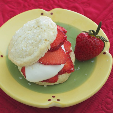 Shortcakes with Strawberries and Cream | Pick Fresh Foods-3