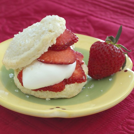 Shortcakes with Strawberries and Cream | Pick Fresh Foods-4