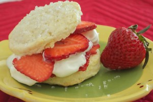Shortcakes with Strawberries and Cream | Pick Fresh Foods