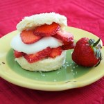 Shortcakes with Strawberries and Cream