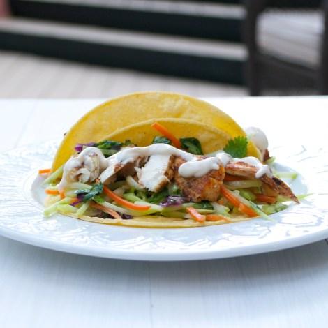 Grilled Mahi Mahi Tacos