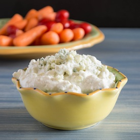 Chunky Blue Cheese Yogurt Dip