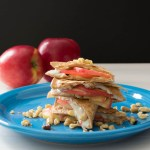 Apple Quesadilla-