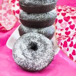 dark chocolate donuts