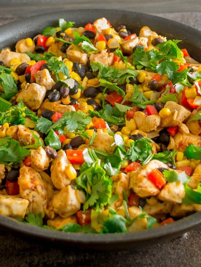 Southwestern Chicken Skillet Dinner