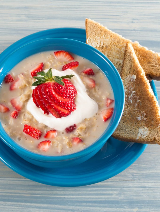 Strawberries N' Cream Oatmeal