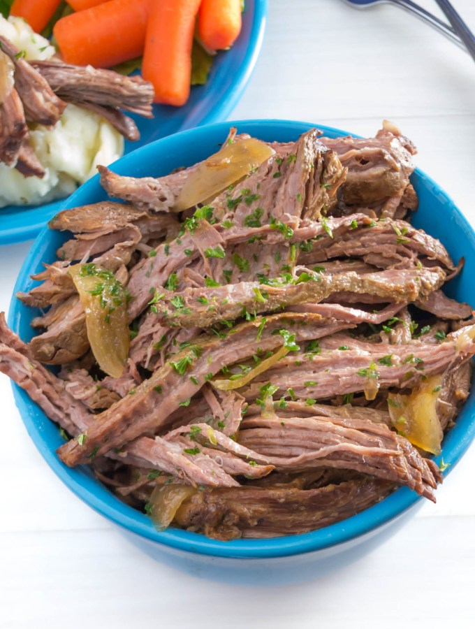 Crock Pot Shredded Beef