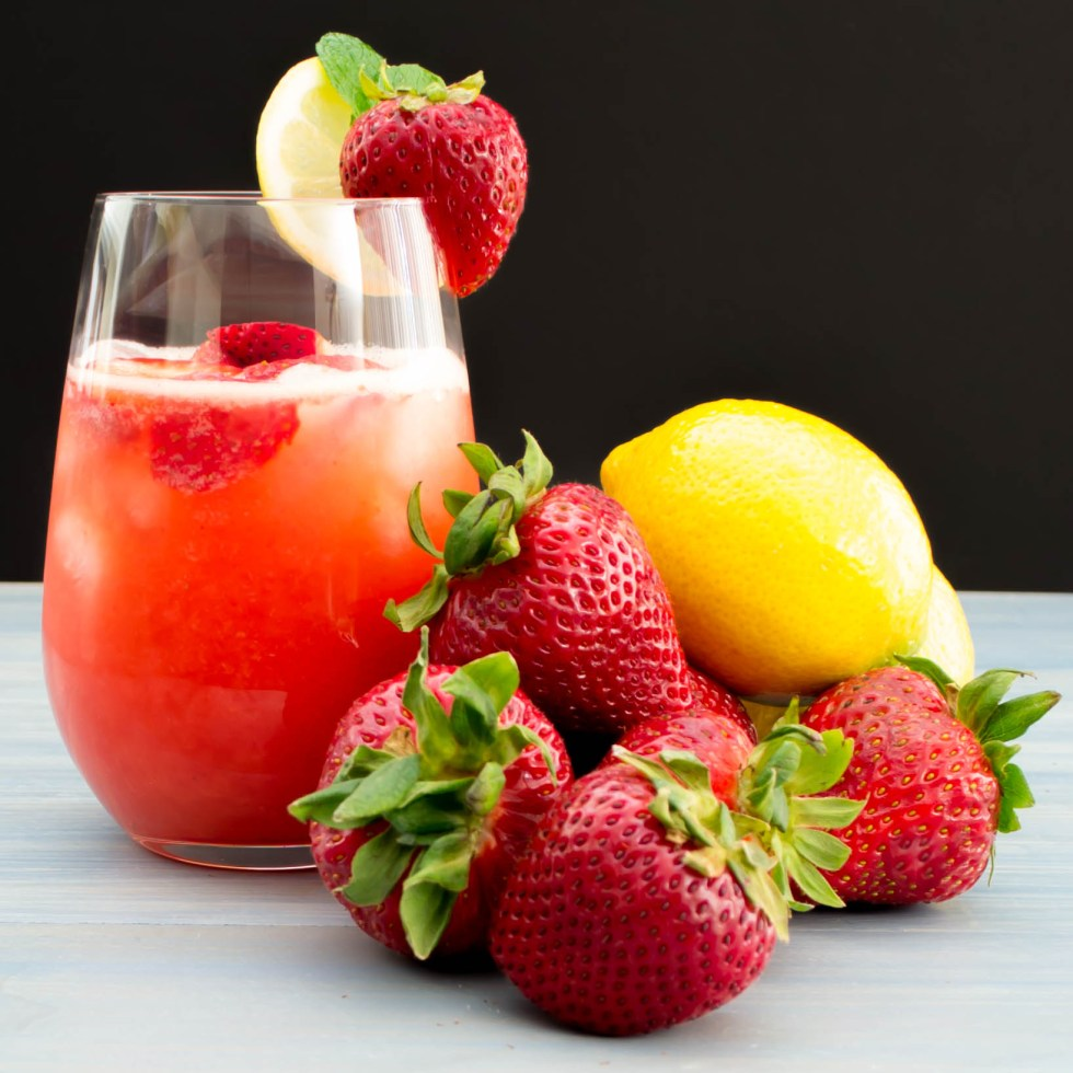 Strawberry Lemonade Recipe Pick Fresh Foods