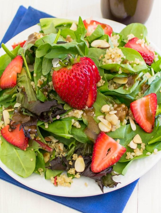 Strawberry Quinoa Spring Salad