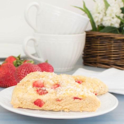 Strawberry Scones   Pick Fresh Foods